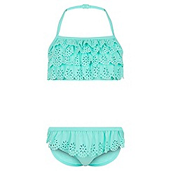 Monsoon - Blue Lola lasercut bikini