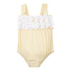 Monsoon - Yellow Baby buttercup flower swimsuit