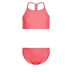 Monsoon - Girls' pink Wahiki braided bikini