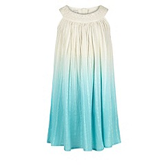 Monsoon - Girls' blue ombre amy dress