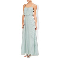 Monsoon - Green Linnea maxi dress