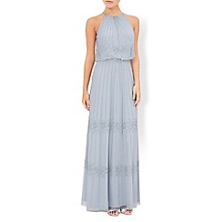 Monsoon - Blue Buttercup maxi dress
