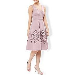 Monsoon - Pink lottie cutout dress