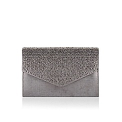 Monsoon - Metallic 'Jove' metallic diamante clutch