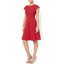 Monsoon - Red Cordelia dress