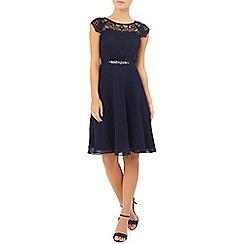 Monsoon - Blue briar-rose dress
