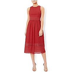 Monsoon - Red Evangelina dress