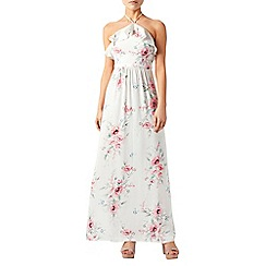 Monsoon - Ivory Lucille ruffle maxi dress