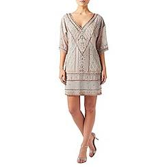 Monsoon - Grey Opal embellished dress