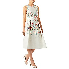 Monsoon - Ivory Arianna floral print prom dress
