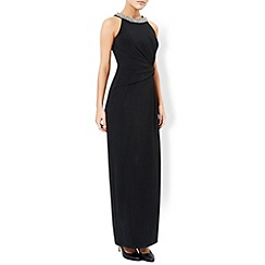Monsoon - Black Phoenix maxi dress