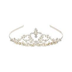 Monsoon - Gold 'Fleur' diamante Tiara