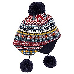 Monsoon - Baby boys' multicoloured 'City Sights' nepal hat