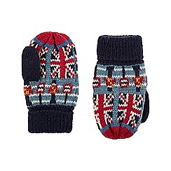 Monsoon - Baby boys' multicoloured 'City Sights' mittens