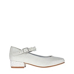 Monsoon - Girls' white Pearl and Sparkle bead strap jive