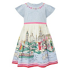Monsoon - Baby girls' kensington london 2 In 1 dress
