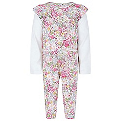 Monsoon - Baby girls' multicoloured newborn 'marsha' playsuit