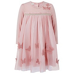 Monsoon - Baby girls' pink newborn 'tammy' tutu dress