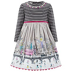 Monsoon - Grey baby Laura London scene dress