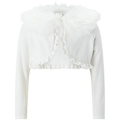 Monsoon - Baby girls' white 'firenze' cardigan