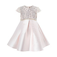 Monsoon - Baby girls' pink 'tula' dress
