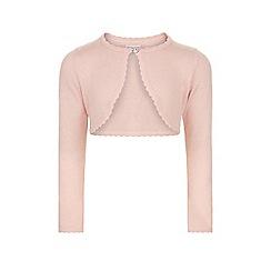 Monsoon - Baby girls' pink 'Niamh' cardigan
