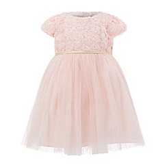 Monsoon - Pink baby Maisie rose dress