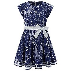 Monsoon - Blue Gemini dress