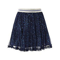 Monsoon - Blue Ellie spot tutu skirt