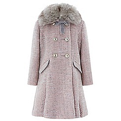 Monsoon - Girls' pink 'sophia' coat