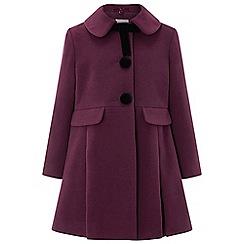 Monsoon - Girls' red 'Audrey' Coat