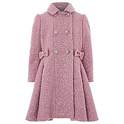 Monsoon - Pink Selina sparkle coat
