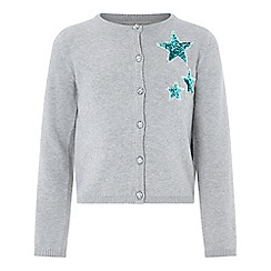 Monsoon - Grey sparkle star cardigan