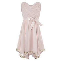 Monsoon - Girls' pink elouise dress