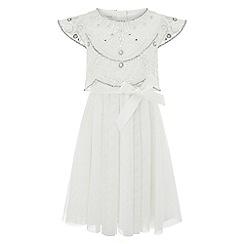 Monsoon - Girls' white alba dress