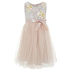 Monsoon - Girls' pink 'Seren' dress