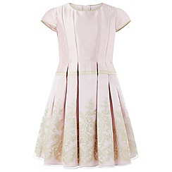 Monsoon - Girls' pink 'flora' dress