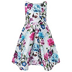 Monsoon - Girls' multicoloured oil painting dress