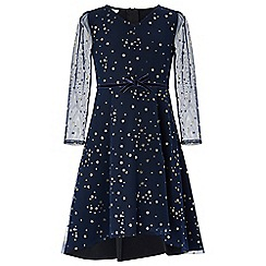 Monsoon - Blue nova scuba star dress