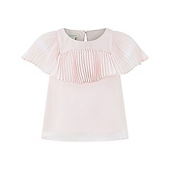 Monsoon - Girls' pink Francina' rose top