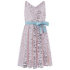 Monsoon - Girls' pink Neveah' sequin dress
