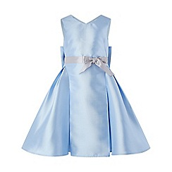 Monsoon - Girls' blue Viera' dress