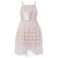 Monsoon - Girls' pink Miranda' prom dress