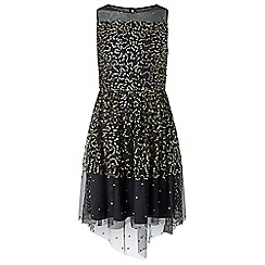 Monsoon - Girls' black Canberra' dress