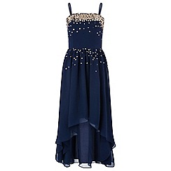 Monsoon - Girls' blue Laurenzia' dress