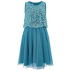 Monsoon - Blue Aaliyah dress