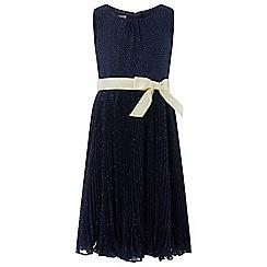Monsoon - Blue glitter Marilyn dress