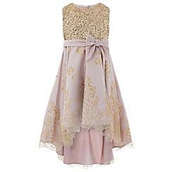 Monsoon - Gold principessa dress