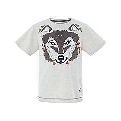 Monsoon - Boys' brown Hayden' husky short sleeve tee