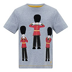 Monsoon - Boys' grey gordon london guard tee